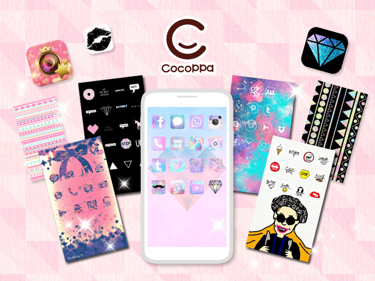 PV】CocoPPa - Japan Kawaii (cute) icons&homescreen for iPhone/Android